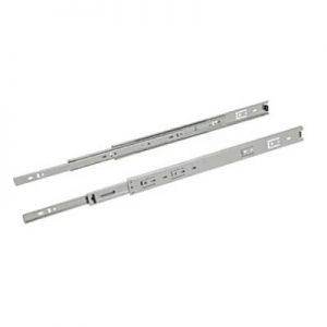 Par de corrediças metálicas 250 mm Mini - Loja Arte Real Marcenaria - Poços de Caldas - MG 001