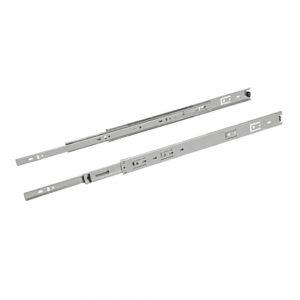 Par de corrediças metálicas 350 mm Mini - Loja Arte Real Marcenaria - Poços de Caldas - MG